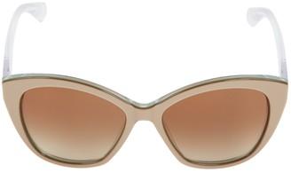 Dolce & Gabbana Beige Plastic Sunglasses