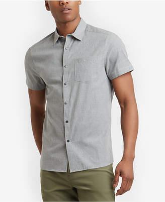 Kenneth Cole New York Men's Heather Pocket Shirt