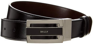Bally Fabazia Reversible Leather Belt