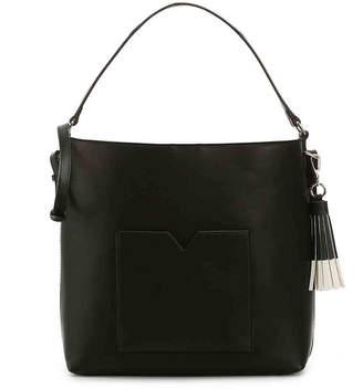 Kelly & Katie Campwood Hobo Bag -Black Faux Leather - Women's