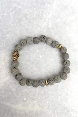 Wild Lilies Jewelry Gray Buddha Bracelet