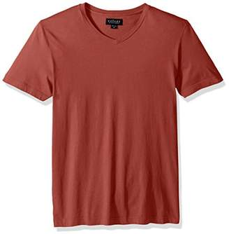 Velvet by Graham & Spencer Men's Velvet Samsen Short-Sleeve V-Neck Shirt