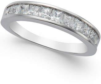 Macy's Diamond Band Ring in 14k White Gold (1 ct. t.w.)