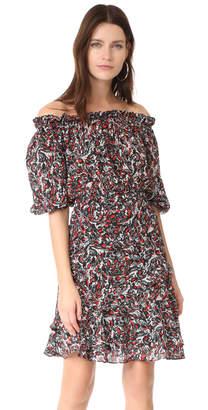 Saloni Grace Short Dress $550 thestylecure.com