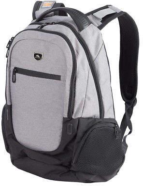 High Sierra NEW Houston Laptop Backpack Charcoal Black