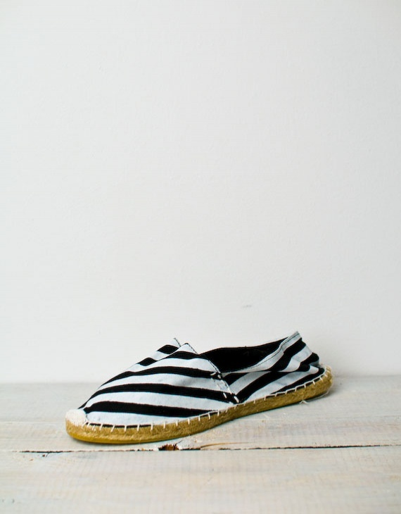 Rubber Duck Stripe Espadrille