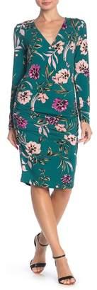Yumi Kim Take Me Out Floral Bodycon Midi Dress