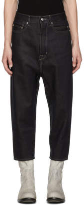 Rick Owens Indigo Collapse Jeans