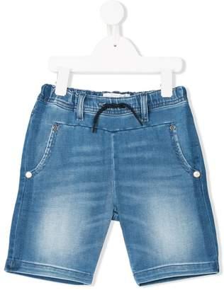 John Galliano washed denim shorts