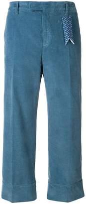 The Gigi cropped corduroy trousers