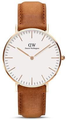 Daniel Wellington Classic Durham Watch, 36mm - 100% Exclusive $199 thestylecure.com