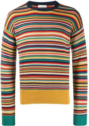 Etro striped knit jumper