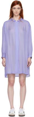 Chimala Blue Shirt Dress