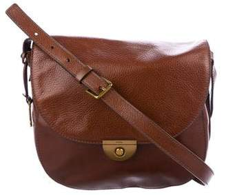Fossil Grained Leather Crossbody Bag