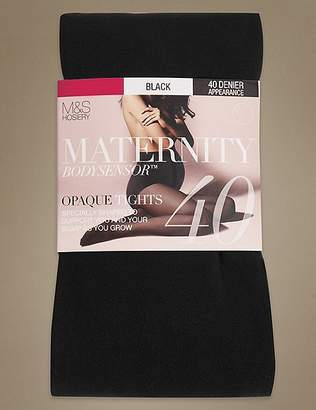 Marks and Spencer Maternity 40 Denier Body SensorTM Tights