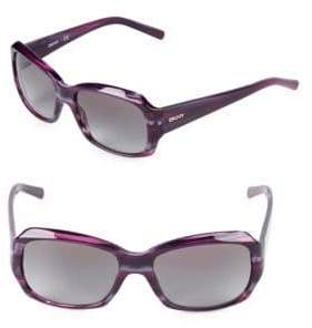 DKNY 55MM Square Sunglasses