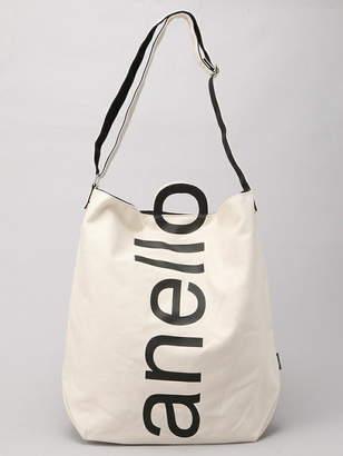 Anello (アネロ) - anello anello/(L)ロゴ2WAYトートバッグ ウィゴー バッグ
