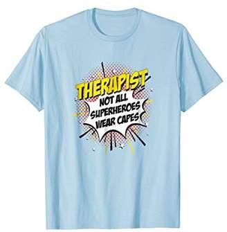 IDEA Therapist Superhero Shirt Funny Comic Tee Gifts