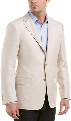 Hickey Freeman Milburn Ii Linen Sportcoat