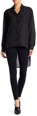 David Lerner High Waist Tuxedo Legging $165 thestylecure.com