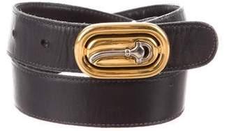 Gucci Vintage Leather Waist Belt