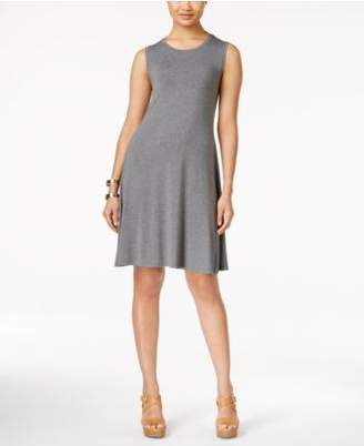 Style&Co. Style & Co. Sleeveless A-Line Swing Dress, Created for Macy's
