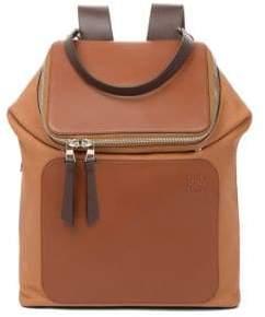 Loewe Goya Leather Backpack