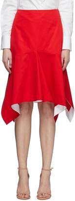 Calvin Klein Darted peplum skirt