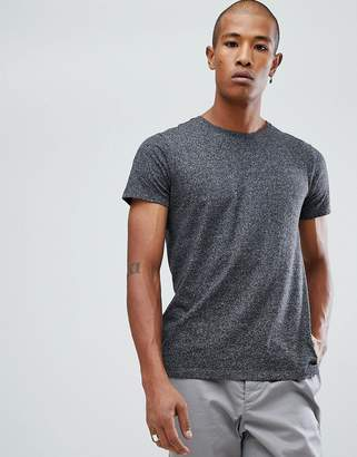 Lindbergh Mouline Crew Neck T-Shirt in Black