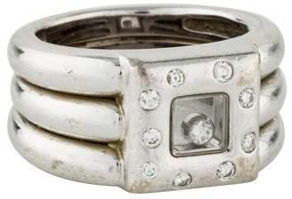 Chopard 18K Happy Diamonds Ring