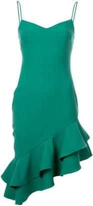 LIKELY asymmetric ruffle dress