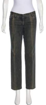 CNC Costume National Mid-Rise Wide-Leg Jeans