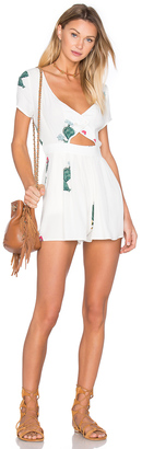 Wildfox Couture Cactus Flower Romper $154 thestylecure.com