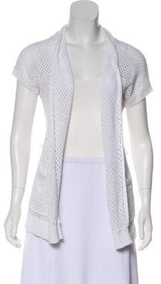 MICHAEL Michael Kors Short Sleeve Knit Cardigan