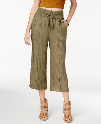 American Rag Crinkled Gaucho Pants, Created for Macy's $44.50 thestylecure.com