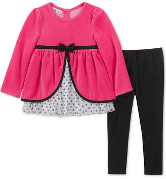 Kids Headquarters Little Girls 2-Pc. Empire-Waist Tunic & Leggings Set