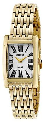 Seiko Women's SUP270 Analog Display Analog Quartz Gold Watch $118.98 thestylecure.com