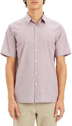 Theory Irving Regular Fit Sport Shirt