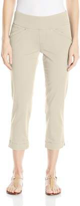 Jag Jeans Women's Marion Pull On Crop In Bay Twill