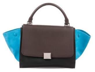 Celine Tricolor Small Trapeze Bag
