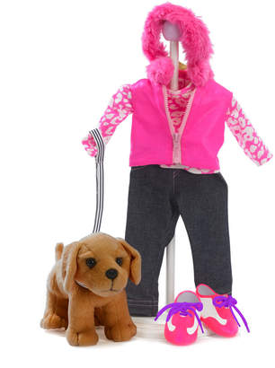Madame Alexander 7Pc Walking My Puppy Set