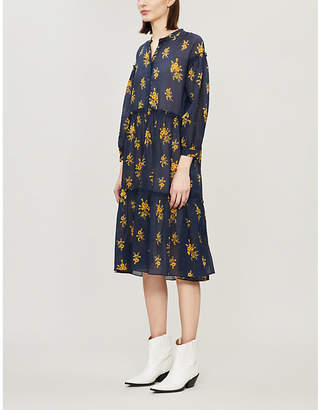 MiH Jeans Lyra floral cotton dress