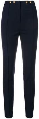 Pinko high-waist slim trousers
