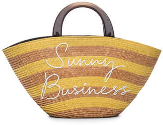 Eugenia Kim Striped 'Sunny Business' Tote Bag