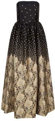 Alice + Olivia Daisy Embellished Gown