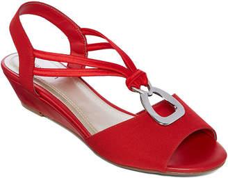 East Fifth east 5th Reid Womens Wedge Sandals