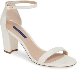ae6fe1888fd Stuart Weitzman White Strap Women s Sandals - ShopStyle