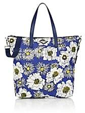Prada WOMEN'S FLORAL TOTE BAG