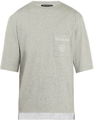 Longjourney Nash embroidered cotton T-shirt