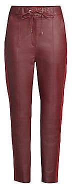 Tommy Hilfiger Tommy Tommy Women's Faux-Leather Track Pants